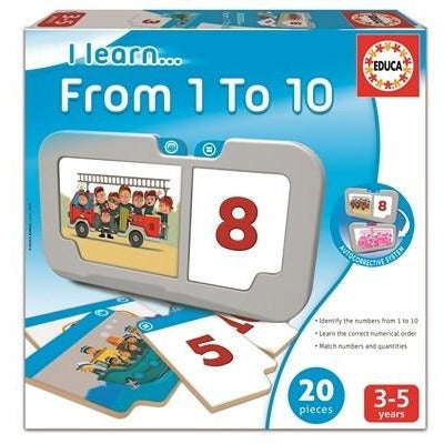 Educa From 1 to 10 - toybox.ae