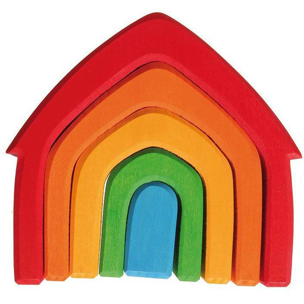 Grimm's Colorful house - toybox.ae