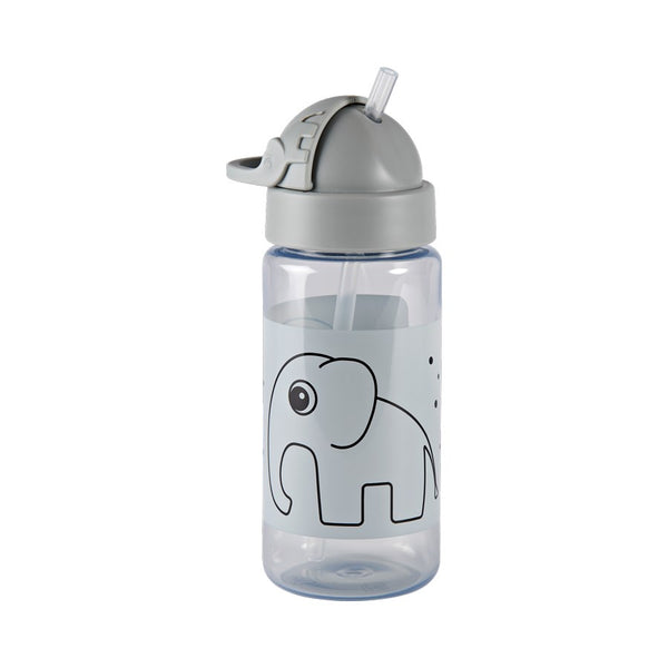 Straw bottle, Elphee, grey