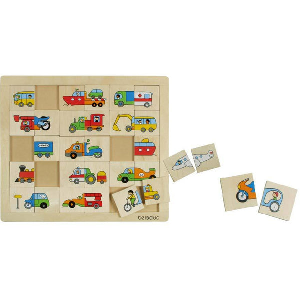 "MATCH & MIX ""TRANSPORT"" - toybox.ae"