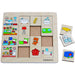 Beleduc Sorting Set Our Home - toybox.ae