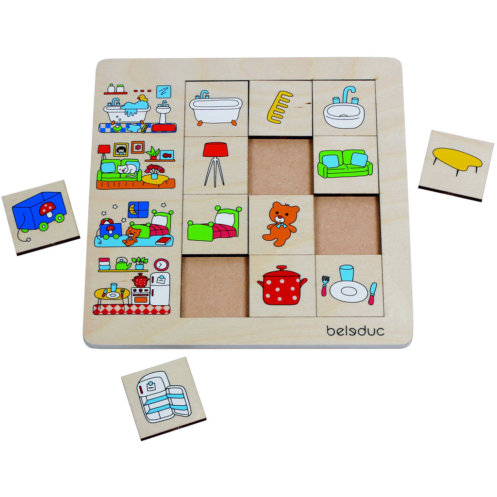 "SORTING SET ""OUR HOME"" - toybox.ae"