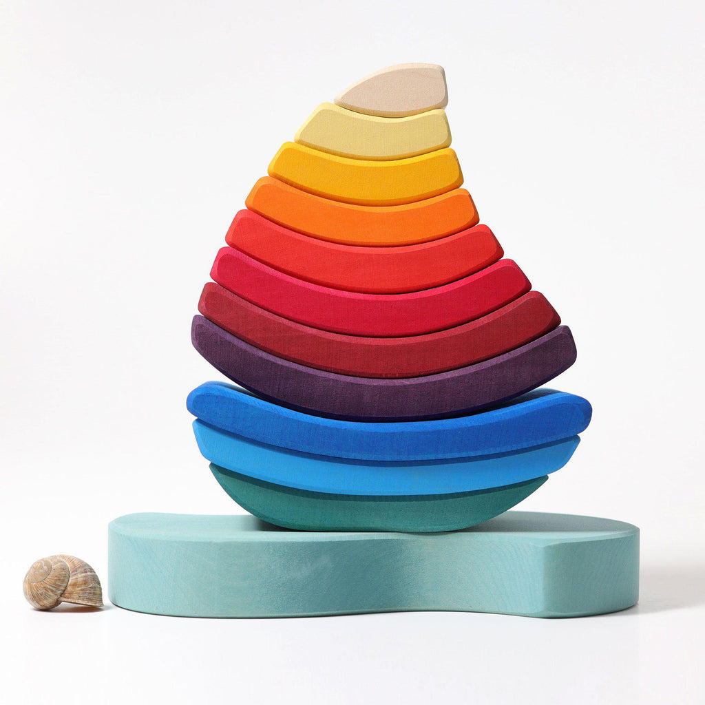Boat Stacking Tower - toybox.ae