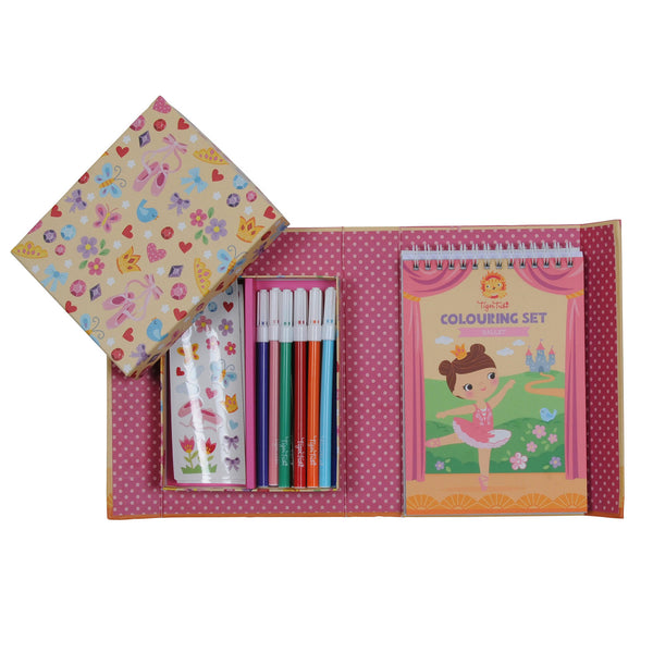 Colouring Set - Ballet - toybox.ae