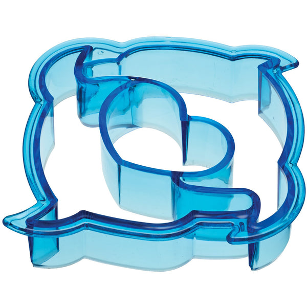 LET´S MAKE PLASTIC DOLPHIN SHAPE SANDWICH CUTTER - toybox.ae