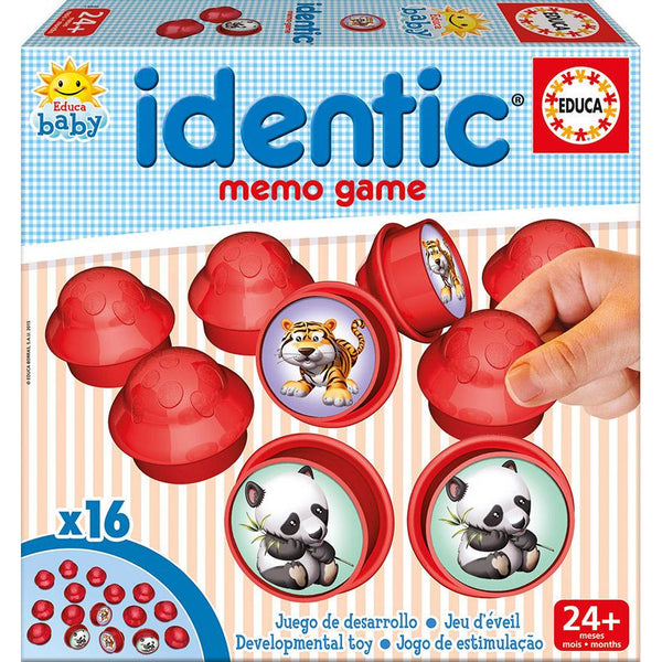 Educa Baby Identic Memo Game - toybox.ae