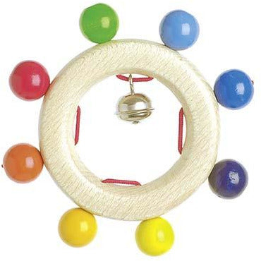 Heimess Touch ring rainbow pearls - toybox.ae
