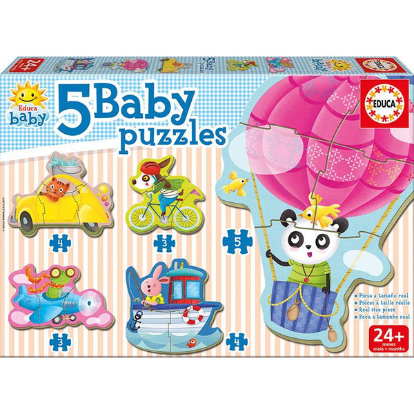 Educa Driving Animals Puzzle - toybox.ae