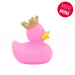 Mini Pink Rubber Duck with Crown -design by LILALU