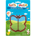 LET´S MAKE PLASTIC BUTTERFLY SHAPE SANDWICH CUTTER - toybox.ae