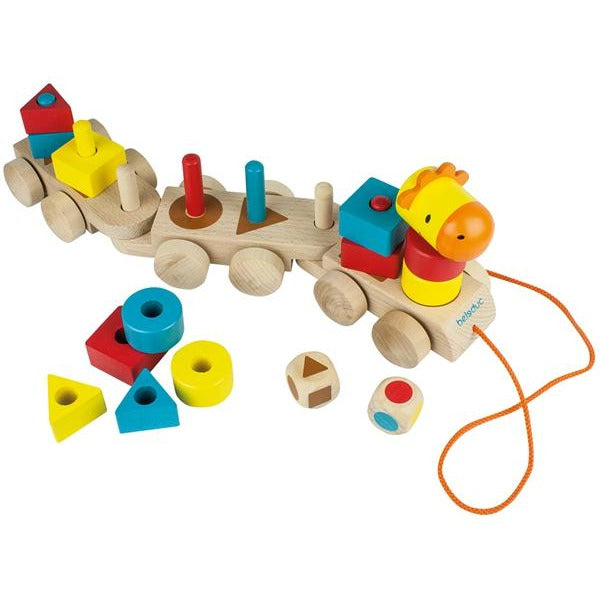 Beleduc Shapy Train - toybox.ae