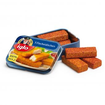Fish Fingers Iglo in a Tin - toybox.ae