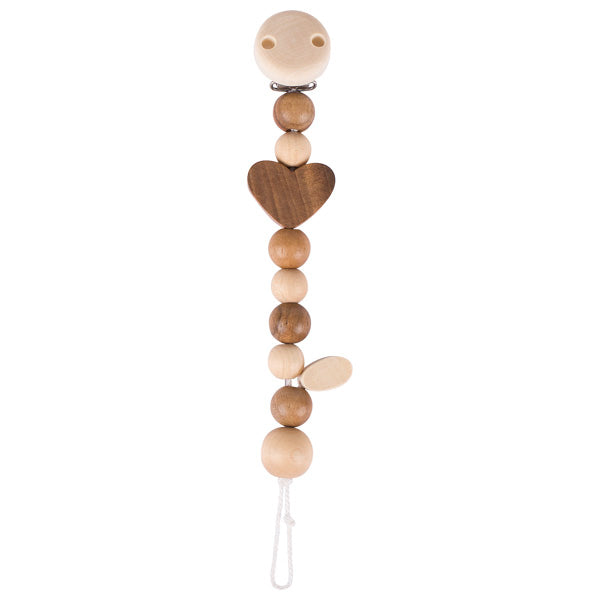 Heimess Dummy Chain Heart nature - toybox.ae