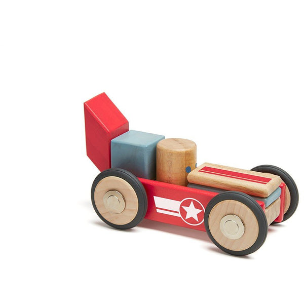 Tegu Daredevil Stunt Team Magnetic Building Blocks - toybox.ae