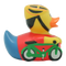 Cycling Duck - design by LILALU - toybox.ae