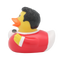 Football Player Duck, red - design by LILALU - toybox.ae