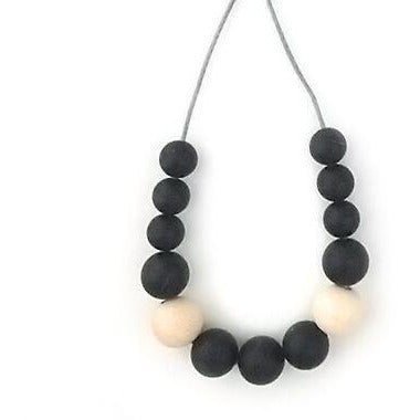 One.Chew.Three - Evie Necklace - Black - toybox.ae