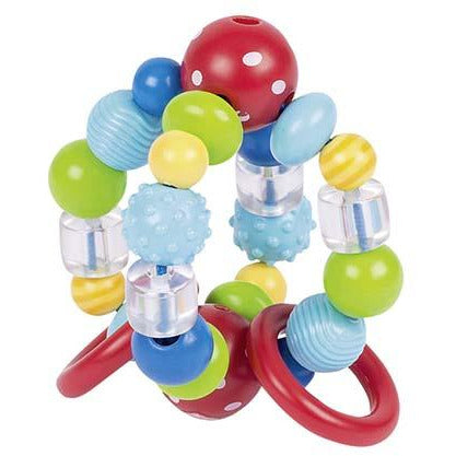 Heimess Touch ring elastic ball, red pearl wiht white spots - toybox.ae