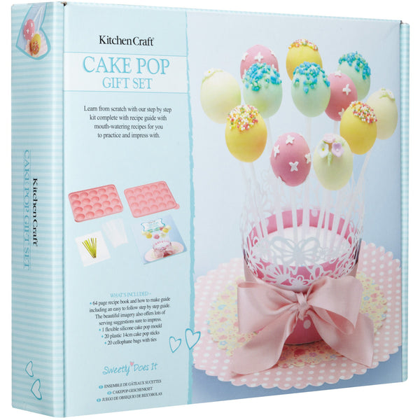 SWEETLY DOES IT CAKE POP GIFT SET - toybox.ae