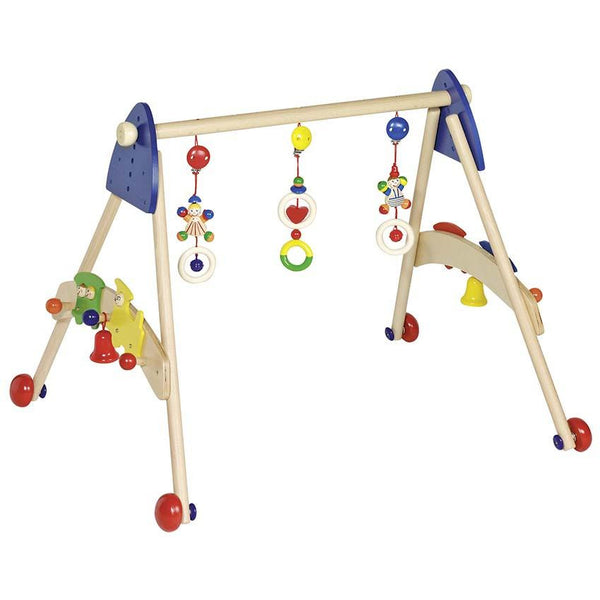 Baby gym and walking trainer train - toybox.ae
