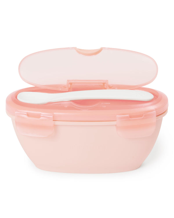 Easy Serve Travel Bowl & Spoon - toybox.ae