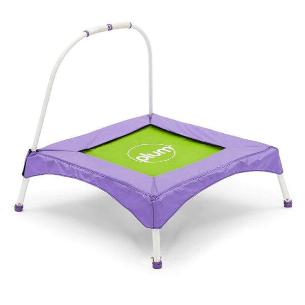 PLUM JUNIOR BOUNCER - PURPLE/GREEN PVC (COLOUR BOX)