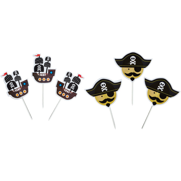 SWEETLY DOES IT PIRATE CUPCAKE KIT - toybox.ae