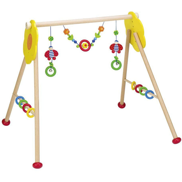 Baby gym and walking trainer ladybird - toybox.ae