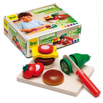 Cheeseburger Cutting set - toybox.ae