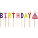 SWEETLY DOES IT BIRTHDAY GIRL WAX CAKE CANDLES - toybox.ae