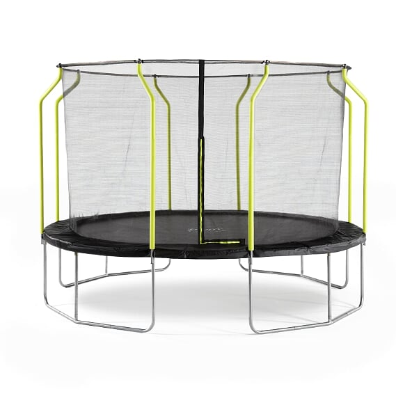 PLUM 12FT WAVE SPRINGSAFE TRAMPOLINE & ENCLOSURE PVC COLOR BOX 1
