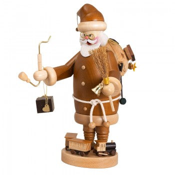 Incense Smoker Santa Claus nature - toybox.ae