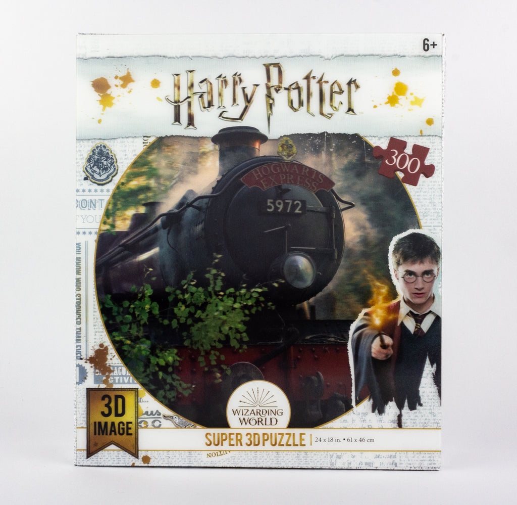 Harry Potter Licensed - The Hogwarts Express 3D Puzzle - 300 Pcs - toybox.ae