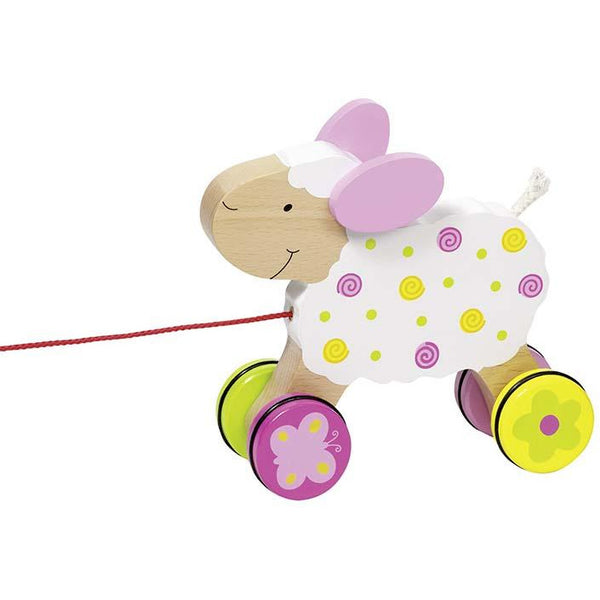 Susibelle pull along sheep Suse - toybox.ae