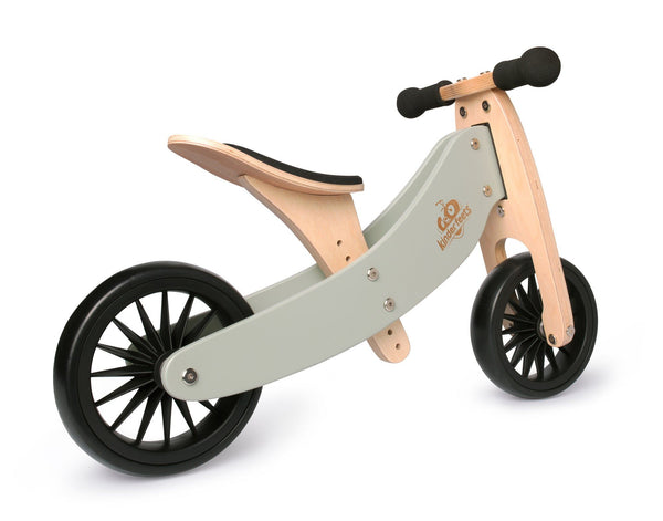 Kinderfeets 2-in-1 Tiny Tot PLUS Tricycle & Balance Bike - Silver Sage