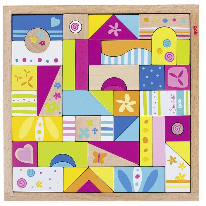 Susibelle 53 piece wooden Puzzle - toybox.ae