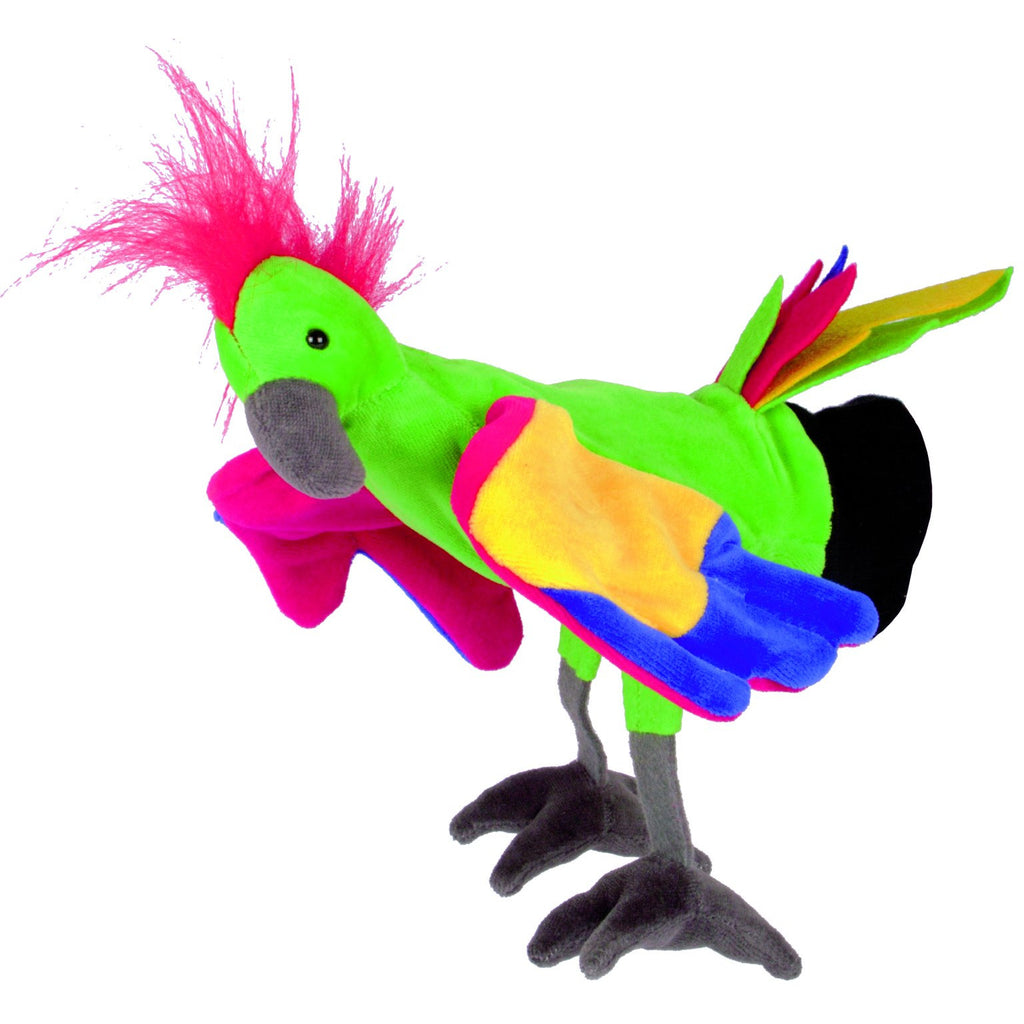 Beleduc Hand Puppet Parrot - toybox.ae