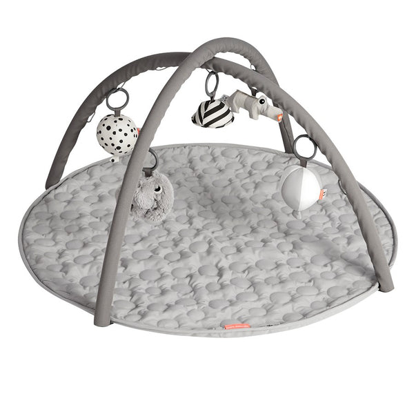 Done by Deer Activity Play Mat Grey - toybox.ae
