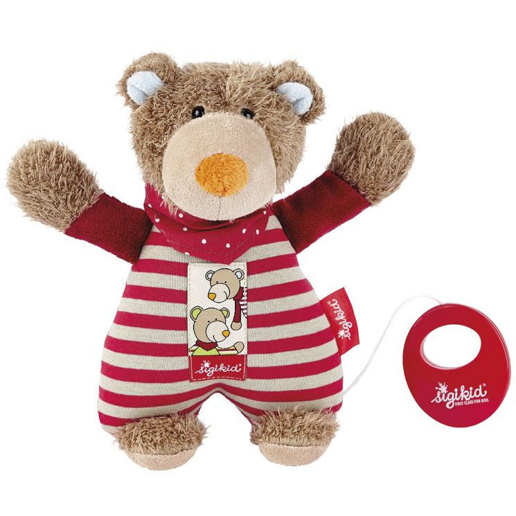 SIgikid Musical Bear red, Wild and Berry Bears - toybox.ae