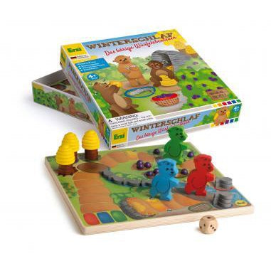 Game Honey Bears in Hibernation - toybox.ae