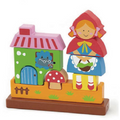 Magnetic 3D Puzzle - Red Riding Hood - toybox.ae