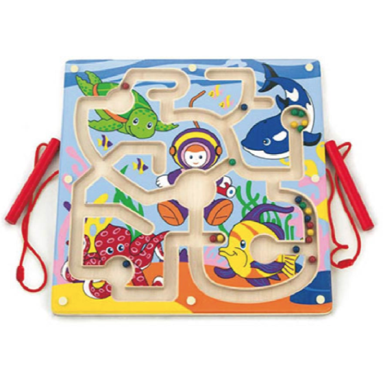 Magnetic Bead Trace - Under the Sea - toybox.ae