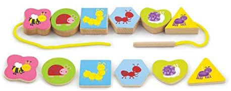 Match & Lace Blocks (24pcs) - toybox.ae
