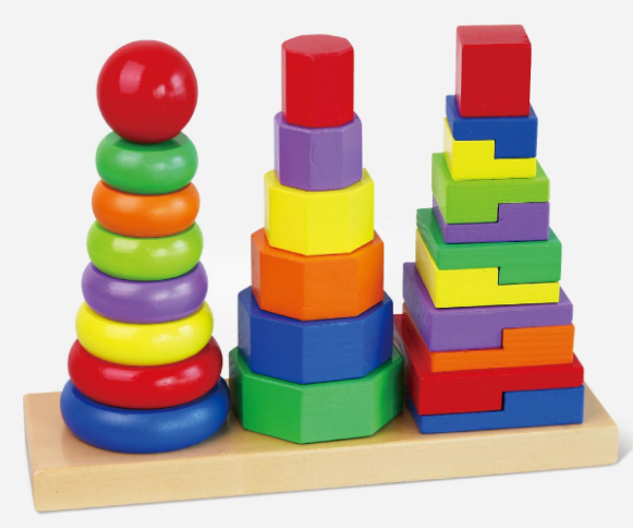 Geometric Stacker - toybox.ae