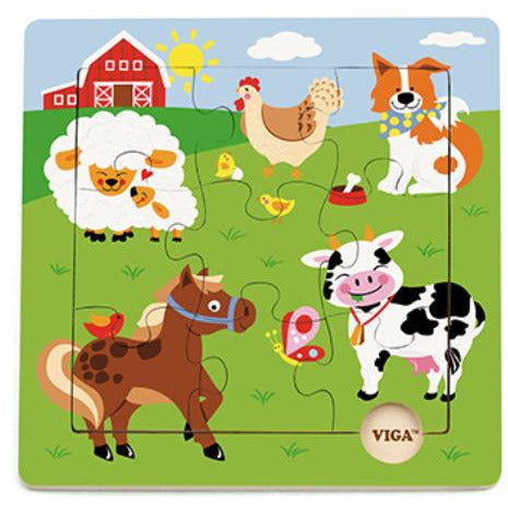 Discovery Puzzle - Farm Animal - toybox.ae
