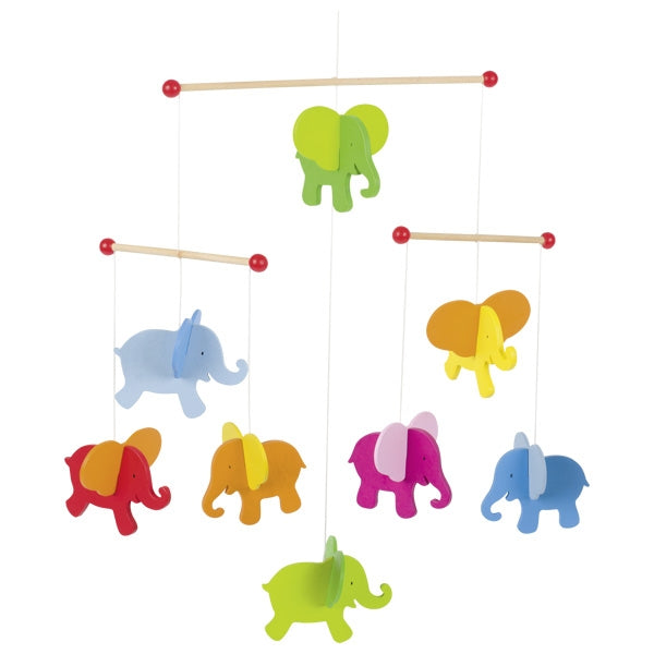 Goki Mobile Elephants - toybox.ae
