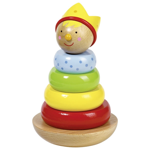 Goki Stacking Little Man Prince - toybox.ae