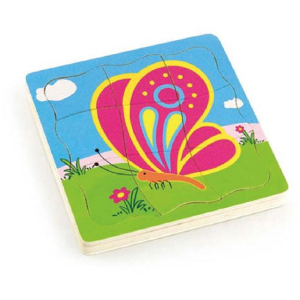 Viga Grow-up Puzzle - Butterfly - toybox.ae