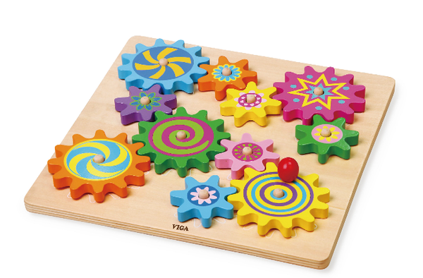 Puzzle & Spinning Gears - toybox.ae