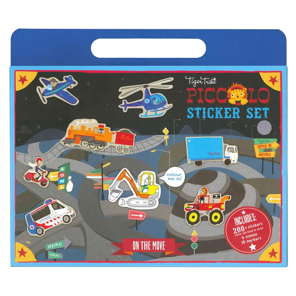 <html>Sticker World - On the Move<sup> </sup></html>